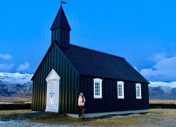 église noir en Islande budir