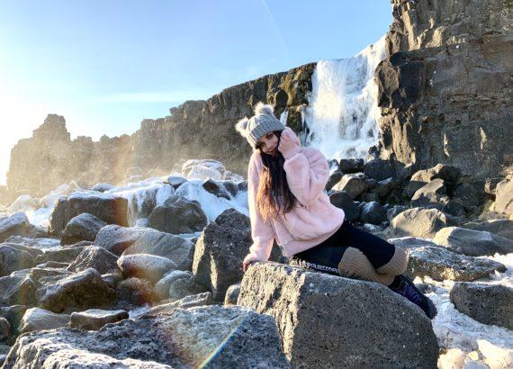 Cascade d'Oxararfoss Islande