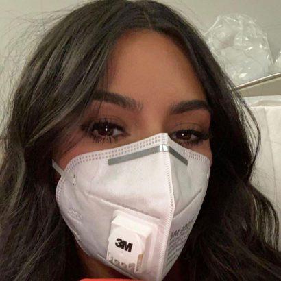 comment se maquiller avec un masque