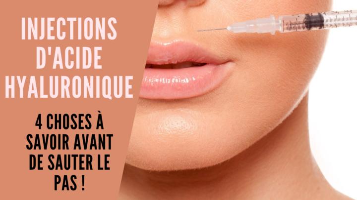 Injections dans les lèvres : 5 choses à savoir !
