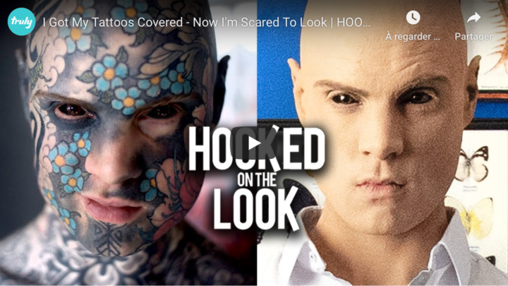 Je recouvre les tatouages de FREAKY HOODY !